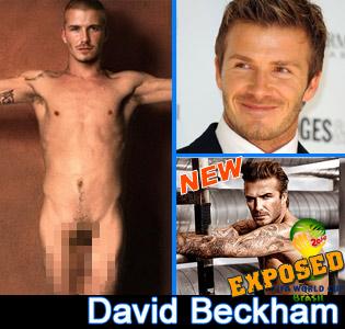 david beckham nude