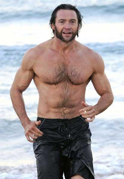 hugh jackman shirtless hunk highway