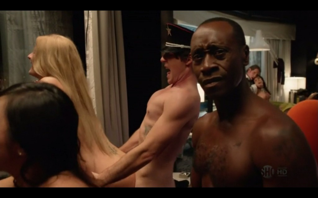 Taylor Gerard Hart and Don Cheadle Nude Scene