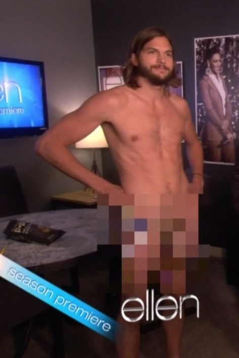 Ashton Kutcher Naked Ellen