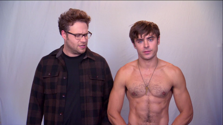 Zac Efron Shirtless And Hairy