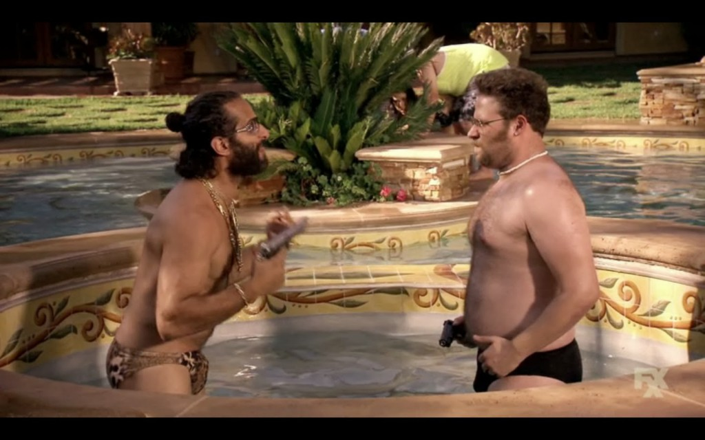 Seth Rogan Bulge