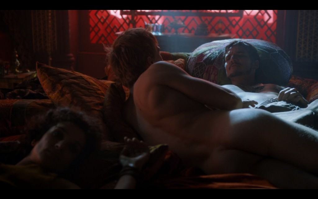 Will Tudor Naked and Gay Scene