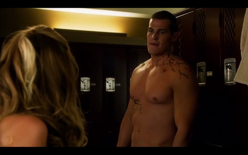 Shirtless Greg Finley
