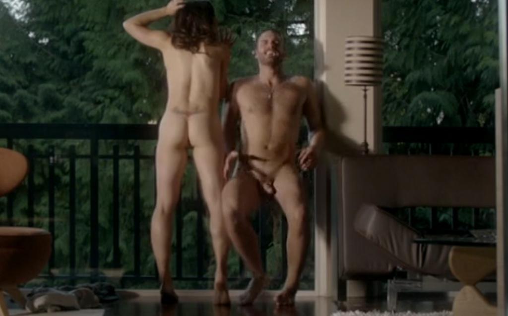 Male actors nude scenes