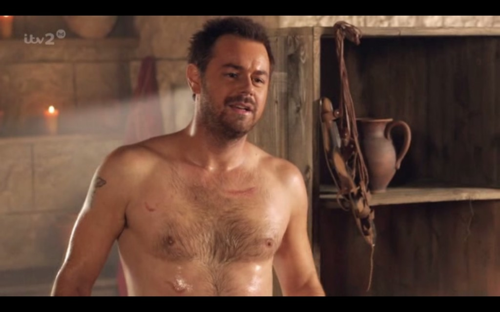 Danny Dyer Hairy and Naked