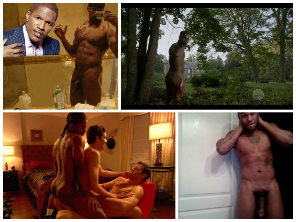 Black male celebrity nude