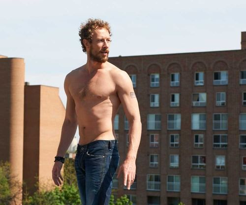 Kris Holden-Ried Shirtless
