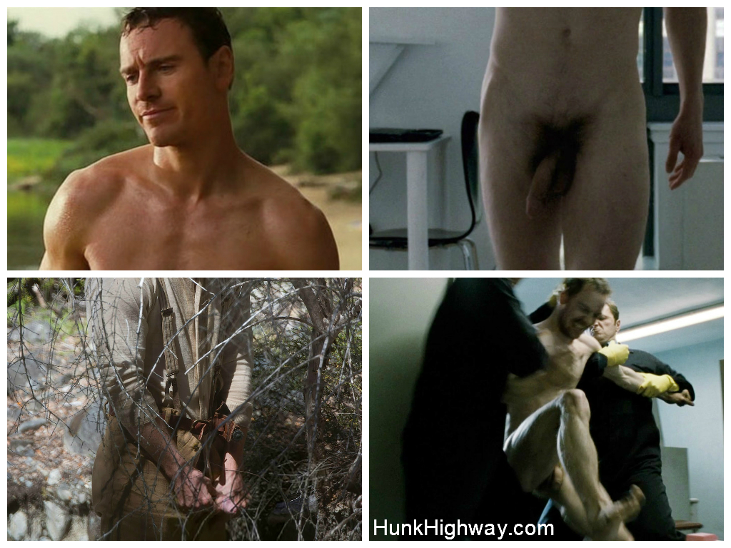 Fully Naked Michael Fassbender