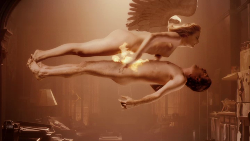 Justin Kirk Nude in Angels in America