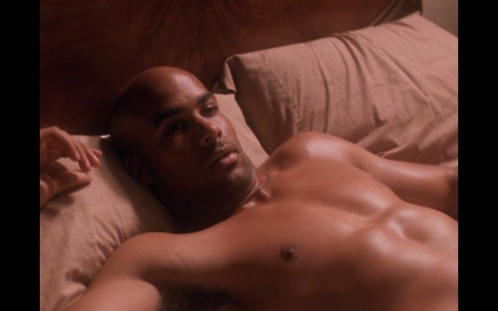 Boris Kodjoe Shirtless