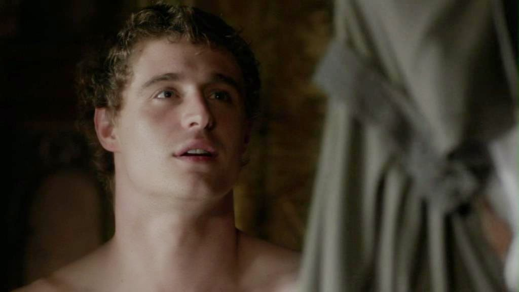 Actor Max Irons Naked