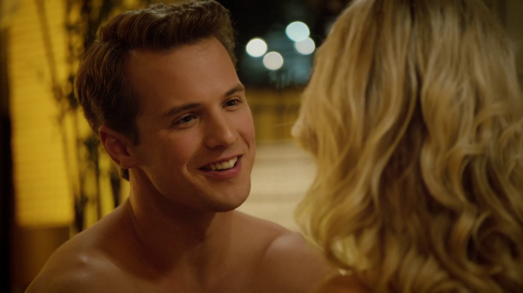 Freddie Stroma Shirtless