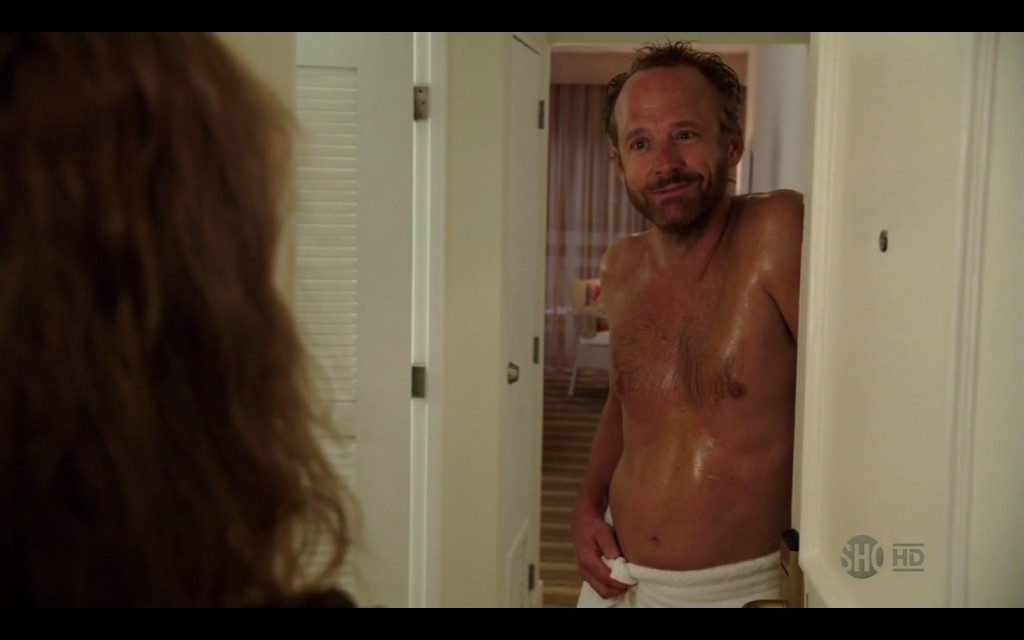 John Benjamin Hickey shirtless