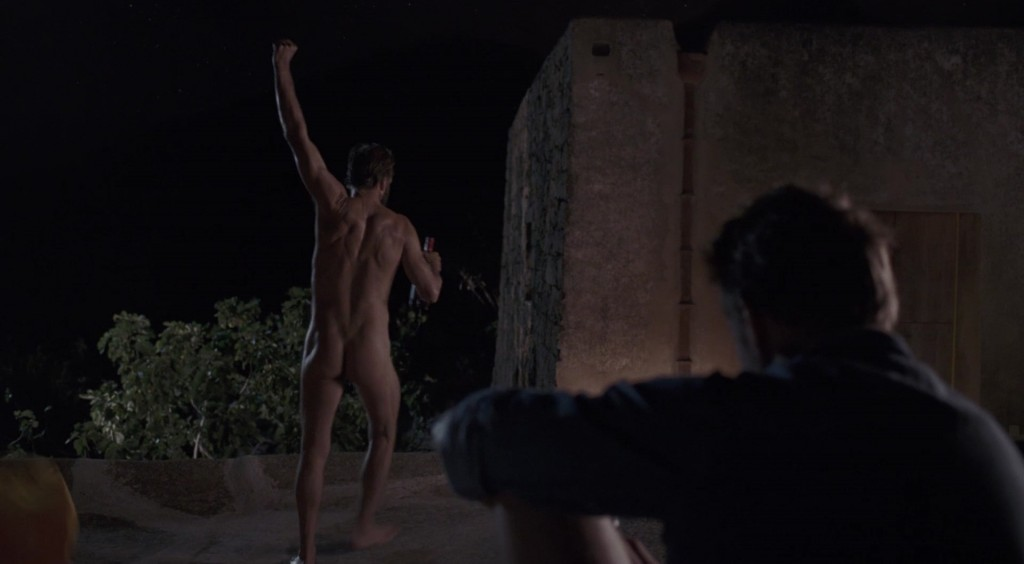 Ralph Fiennes Naked in A Bigger Splash
