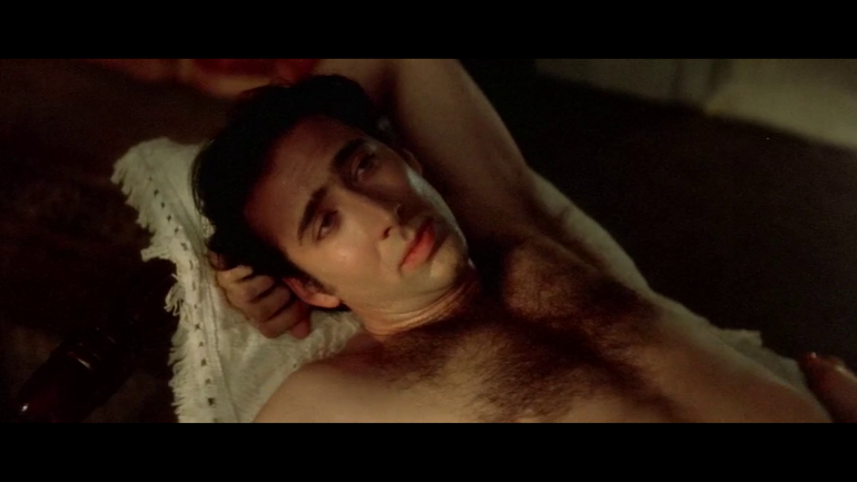 Nicolas Cage Shirtless and Hairy in Wild At Heart-2