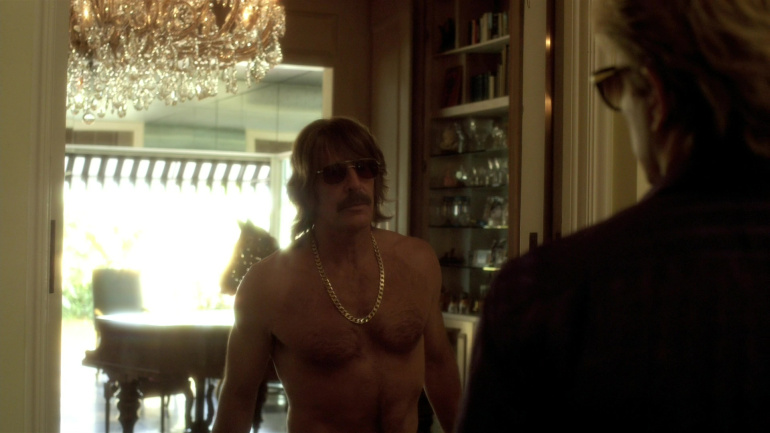 Scott Bakula Shirtless in Behind The Candelabra