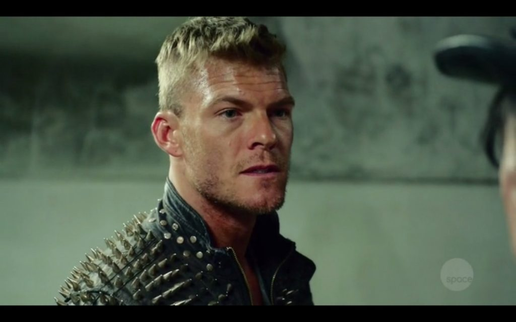 Alan Ritchson Naked On Blood Drive