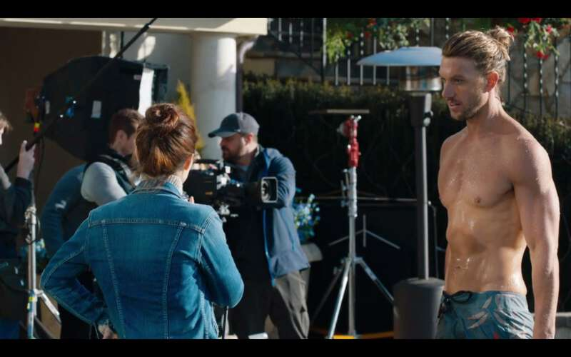 Australian actor Adam Demos shirtless in UnREAL