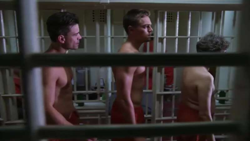 Prisoner Leonardo Di Caprio shirtless