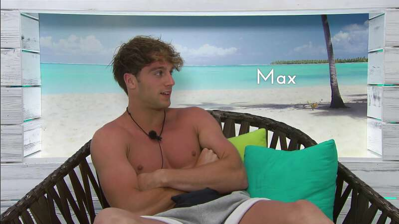 Former cricketer Max Morley in Love Island