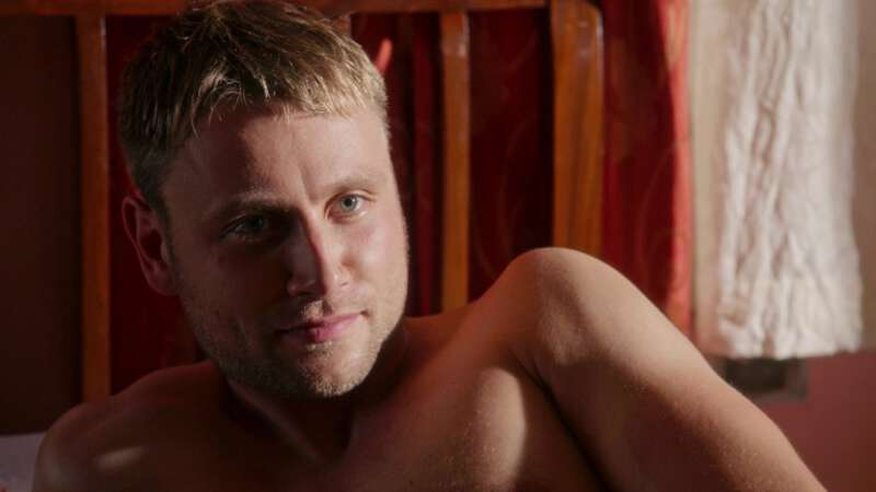 handsome actor Max Riemelt naked