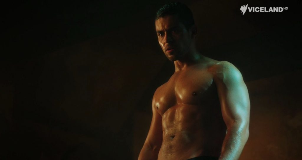 Wilmer Valderrama Shirtless On TV