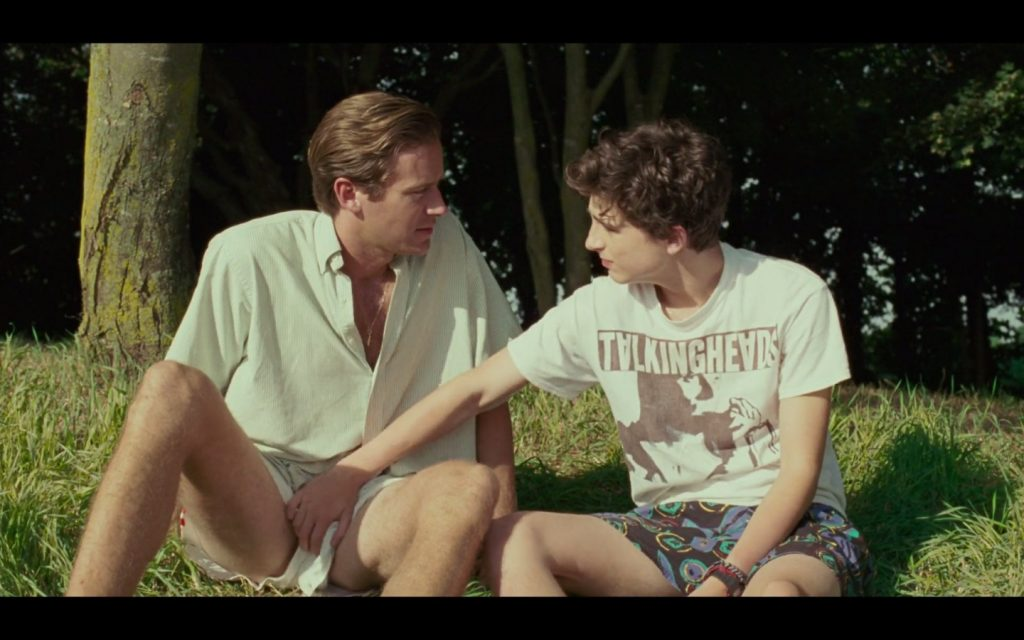 Gay Celeb Scene With Armie Hammer and Timothy Chalamet
