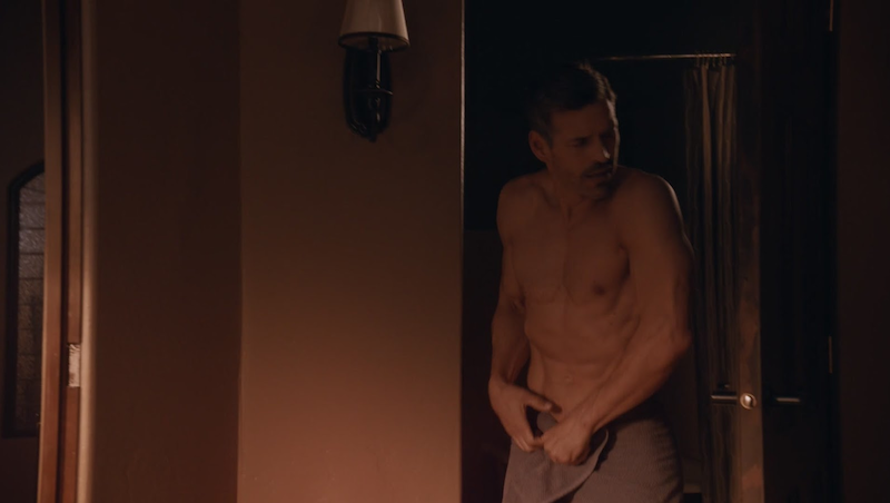 Eddie Cibrian shirtless