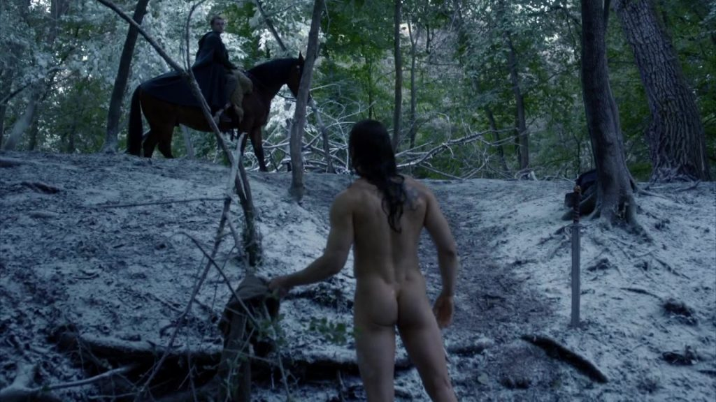 alexander dreymon naked in last kingdom