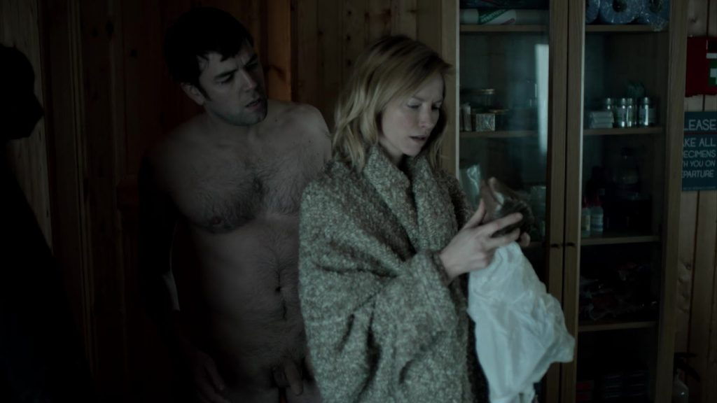 Aaron McCusker Naked in Fortitude
